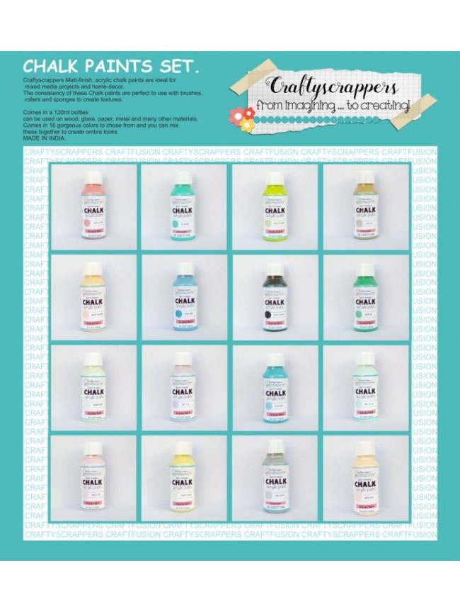 CHALK PAINTS SET