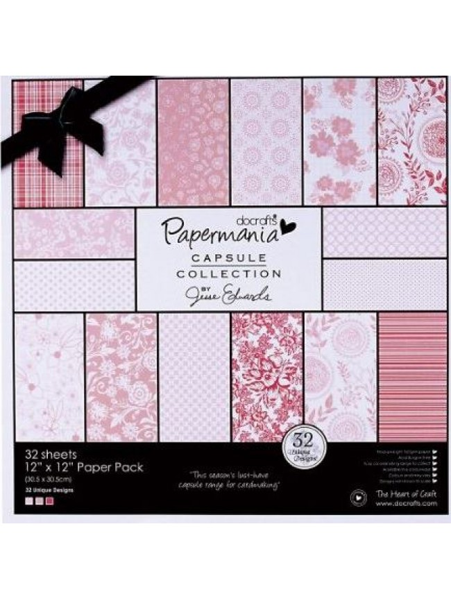 Papermania capsule collection-pink