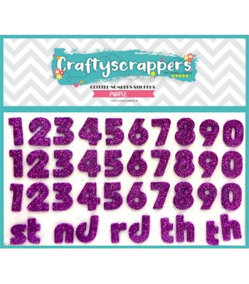 GLITTER-NUMBERS-STICKER-PURPLE