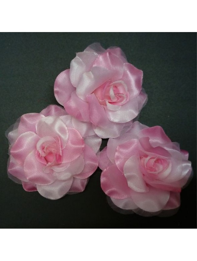 Fabric Rose BIG-PINK