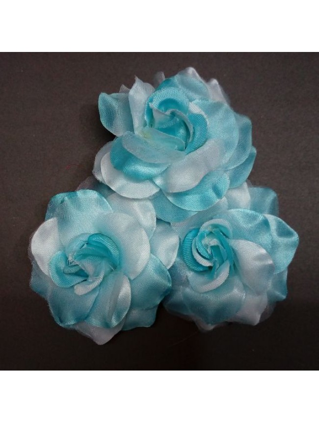 Fabric Rose BIG-SKY BLUE