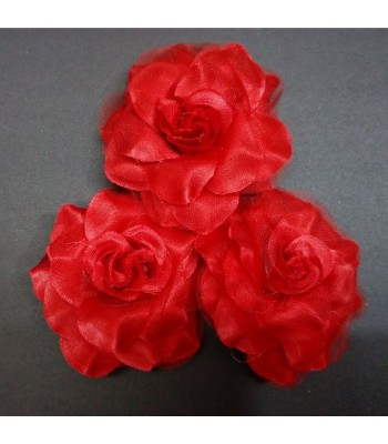 Fabric Rose BIG-RED