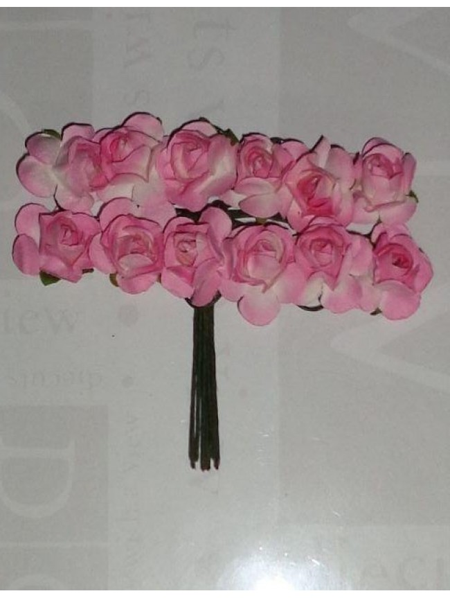 Mulberry Roses-distress pink