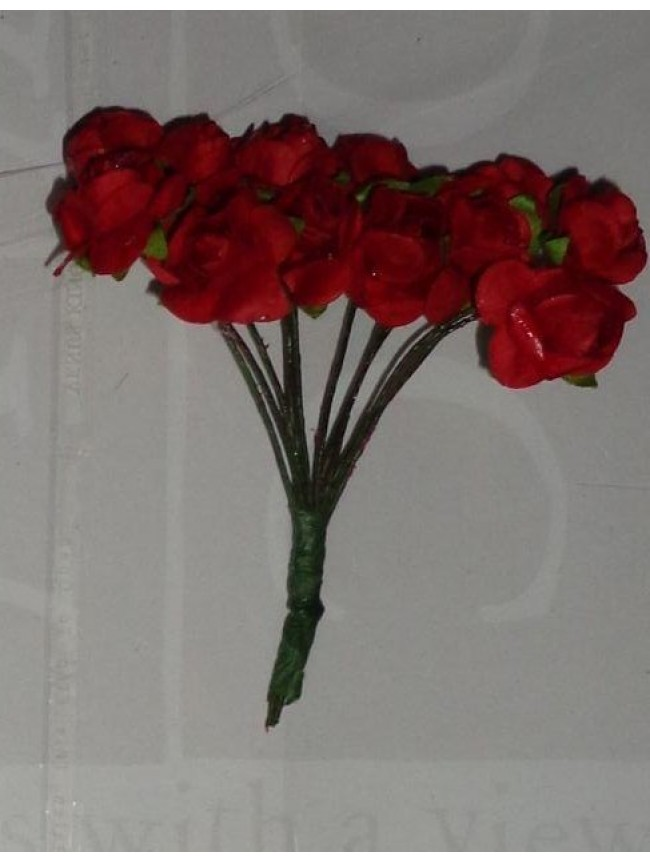 Paper flowers mulberry roses red mightylinksfo