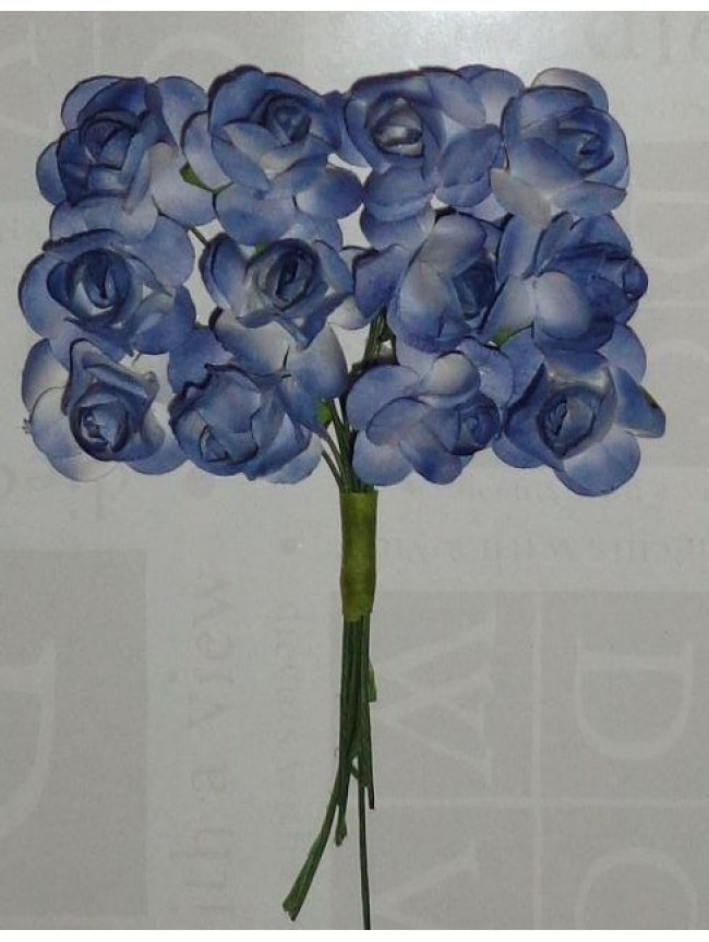 Mulberry Roses-distress blue