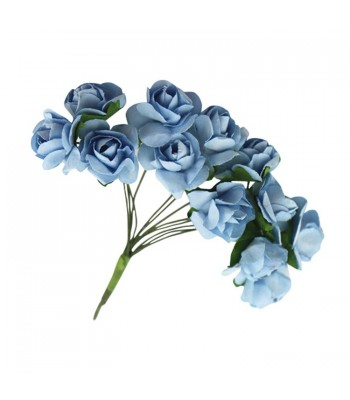Mulberry Roses-blue