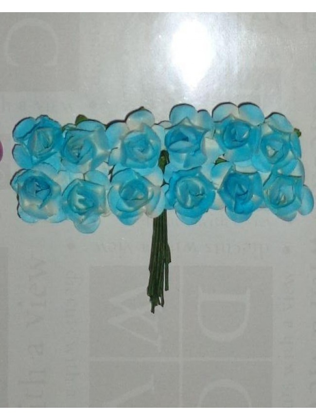 Mulberry Roses-sky blue