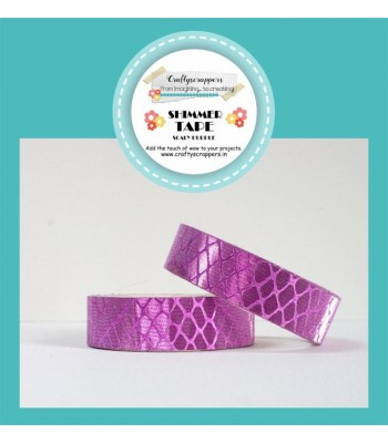SHIMMER TAPE- SCALY PURPLE